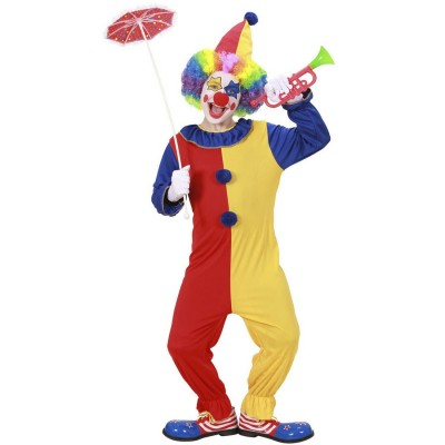 Kinder Clownkostüm Clown Kostüm mit Hut