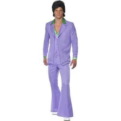 Disco Kostum Herren 70er Jahre Outfit Discoanzug Schlager