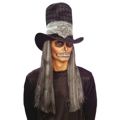 Halloween Spinne Schleier Hut Fascinator Vampir Braut Kostüm Zubehör Vamp