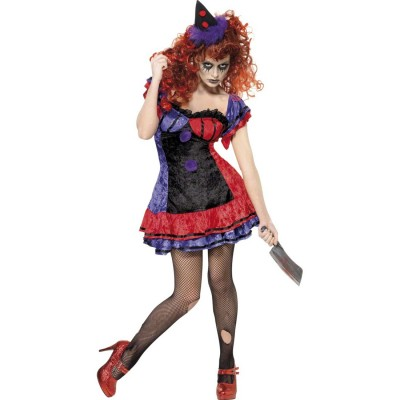 Clown Kostum Damen L 44 46 Clownskostum Clownkostum Horrorclown