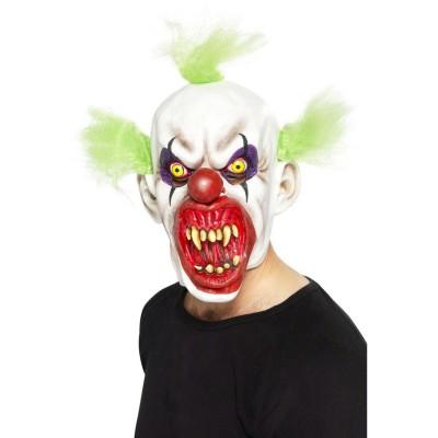 Horror Clown Maske Clownsmaske Mehrfarbig Horrormaske Clownmaske