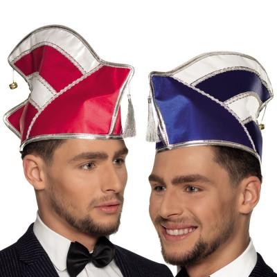 Mini Elfenmütze mit Fliege NEU Karneval Fasching Hut Mütze Kopfbedeckung