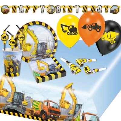 Party Deko Baustelle Kindergeburtstag Junge Party Deko Baustelle 1 99