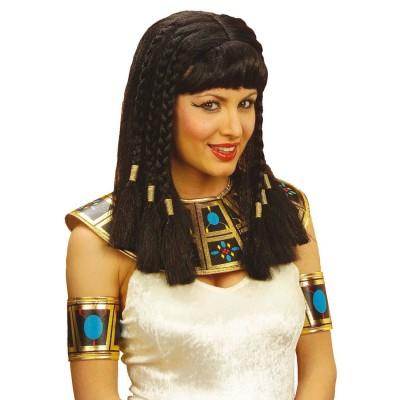 Perucke Kleopatra Schwarz Mit Pony Fasching 13 99