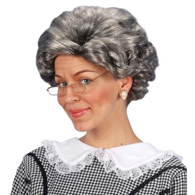 Perucke Oma Agatha Alte Frau Faschingsperucke 12 99