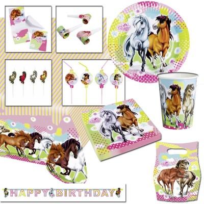 pferde party deko set pferdeparty kindergeburtstag 1 99. Black Bedroom Furniture Sets. Home Design Ideas