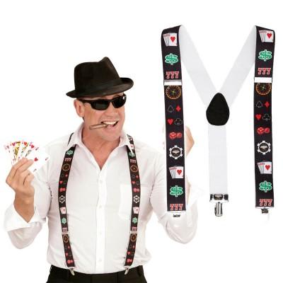 """Schirmkappe /""""Pokerface/"""""""