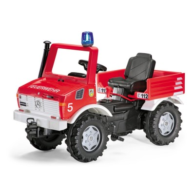 Rolly Toys Unimog - Rote Feuerwehr