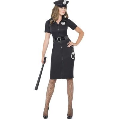 Sexy Polizistin Kostum Polizei Uniform Damen Damenkleid Police Cop
