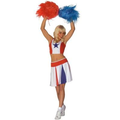 Sexy Cheerleader Kostumr Gr M 20 99