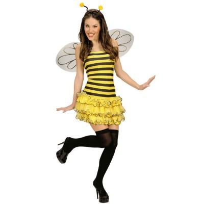Sexy Kostüm Biene Bienenkostüm Damen 3499