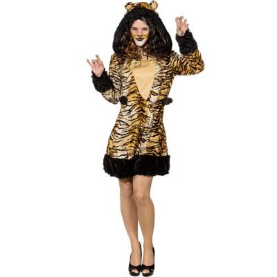 Tiger Dress Damen Tigerkostum Frauen 34 95