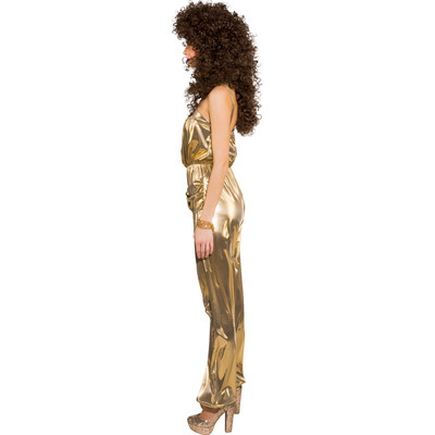 Jumpsuit gold Disco Overall Damen